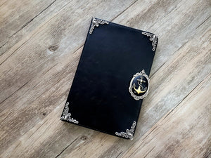 Anchor ipad leather case, handmade ipad cover for Apple MN0987-icasecollections