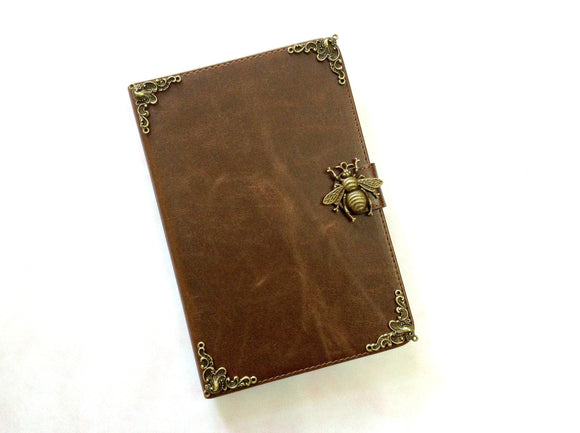 Bee iPad handmade leather stand case for Apple MN0278-icasecollections