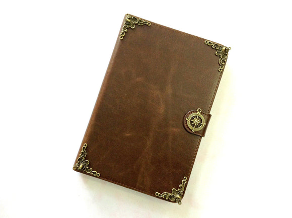 Compass iPad handmade leather stand case for Apple MN0273-icasecollections