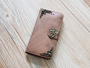 Dragon phone leather wallet removable case cover for Apple / Samsung MN0831-icasecollections