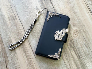 Dragon phone leather wallet removable case cover for Apple / Samsung MN1028-icasecollections