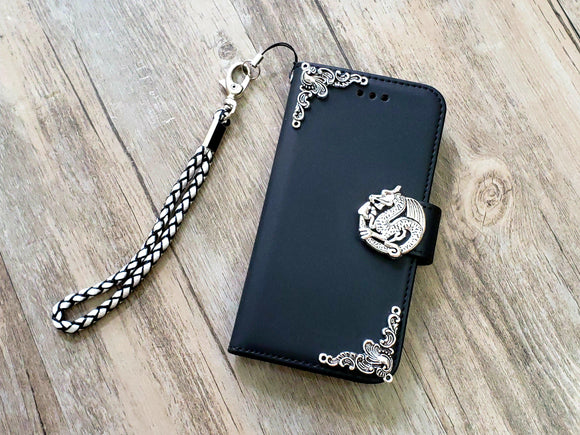 Dragon phone leather wallet removable case cover for Apple / Samsung MN1073-icasecollections