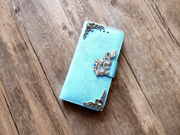 Dragon phone leather wallet removable case cover for Apple / Samsung MN1178-icasecollections