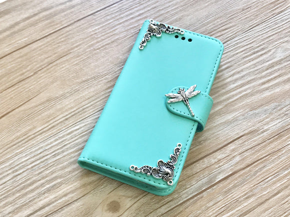 Dragonfly removable phone wallet case for Apple / Samsung MN0215-icasecollections