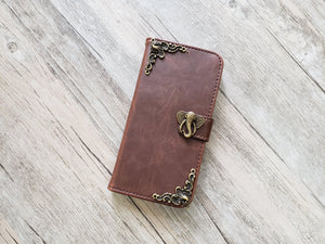 Elephant leather wallet handmade phone case for Apple / Samsung MN1058-icasecollections