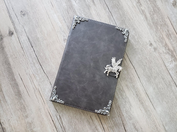 Flying horse ipad leather case, handmade ipad cover for Apple MN1110-icasecollections