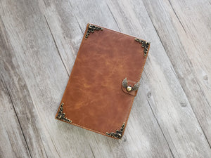 Heart angel wing ipad leather case, handmade ipad cover for Apple MN1015-icasecollections