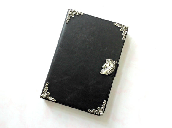 Horse iPad handmade leather stand case for Apple MN0238-icasecollections