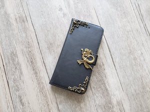 Mermaid leather wallet handmade phone case cover for Apple / Samsung MN1143-icasecollections