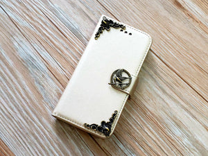 Mockingjay bird phone leather wallet removable case cover for Apple / Samsung MN0858-icasecollections