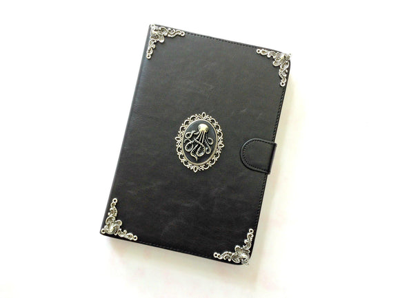 Octopus iPad handmade leather stand case for Apple MN0240-icasecollections