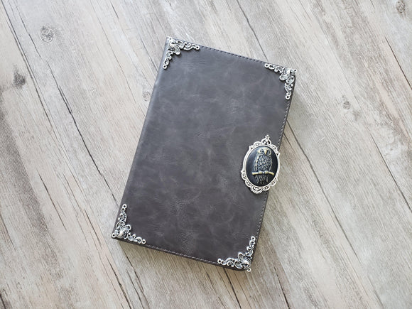 Owl ipad leather case, handmade ipad cover for Apple MN1131-icasecollections