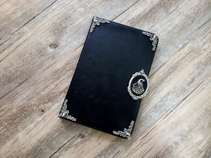 Peacock ipad leather case, handmade ipad cover for Apple MN0986-icasecollections