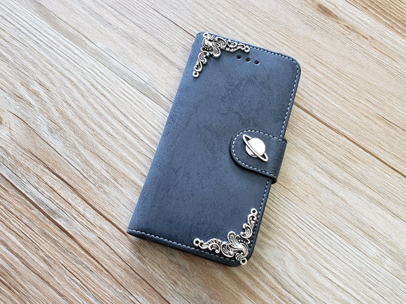Saturn phone leather wallet removable case cover for Apple / Samsung MN0893-icasecollections
