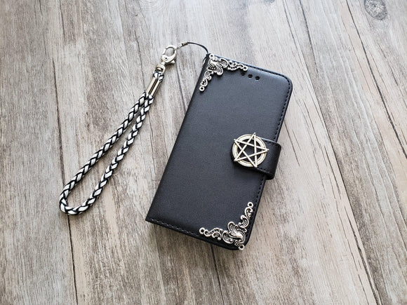 Star phone leather wallet removable case cover for Apple / Samsung MN1298-icasecollections
