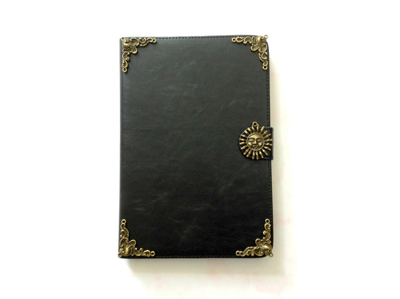 Sun iPad handmade leather stand case for Apple MN0246-icasecollections