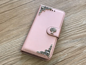 Tree removable phone leather wallet case for Apple / Samsung MN0048-icasecollections