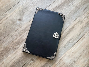 Trinity Celtic Knot ipad leather case, handmade ipad cover for Apple MN0967-icasecollections