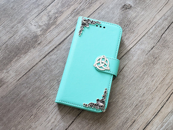 Trinity Celtic Knot phone wallet removable case for Apple / Samsung MN0958-icasecollections