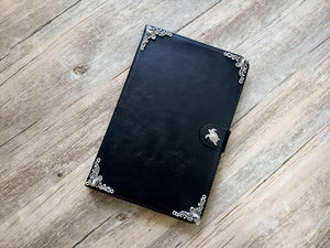 Turtle ipad leather case, handmade ipad cover for Apple MN0977-icasecollections