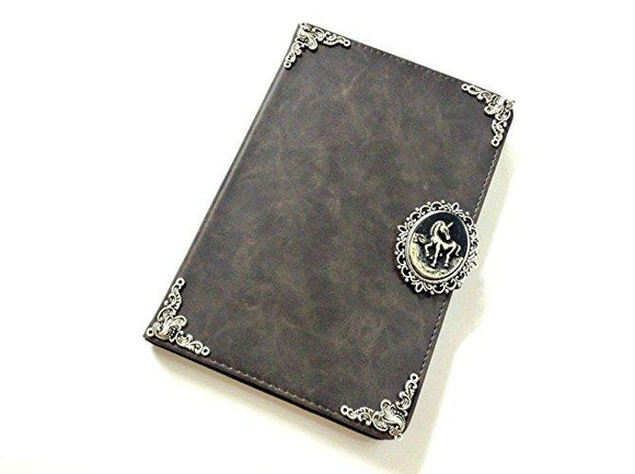 Unicorn ipad leather case, handmade ipad cover for Apple MN0455-icasecollections