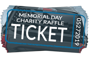 Memorial Day Charity Raffle Tickets