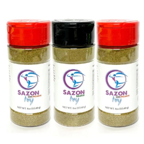 Sazon Ivy Combo Picante/Basico 3-PACK