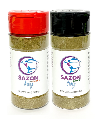Sazon Ivy Combo 4oz Basico/Picante 2-PACK (8oz Total)