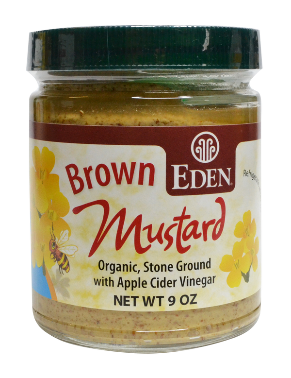 Brown Mustard 255g Eden