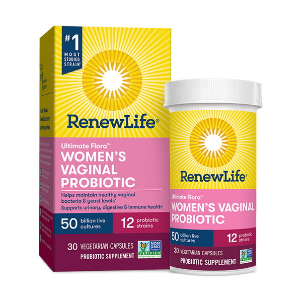 Ultimate Flora Probiotic Women´s vaginal 50 billones 30 cápsulas Renew Life