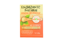 40 Sobres Endulzante Natural Fruta del Monje Monk Fruit