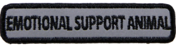 Rectangle Emotional Support Animal - Reflective Patch