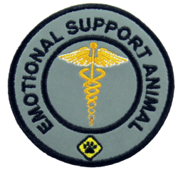 Emotional Support Animal - Reflective Patch
