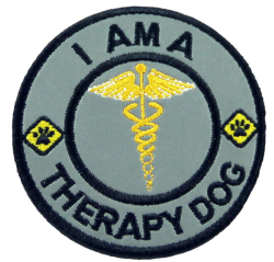 Therapy Dog - Reflective Patch