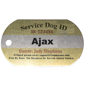 Customized Aluminum Dog Collar Tag