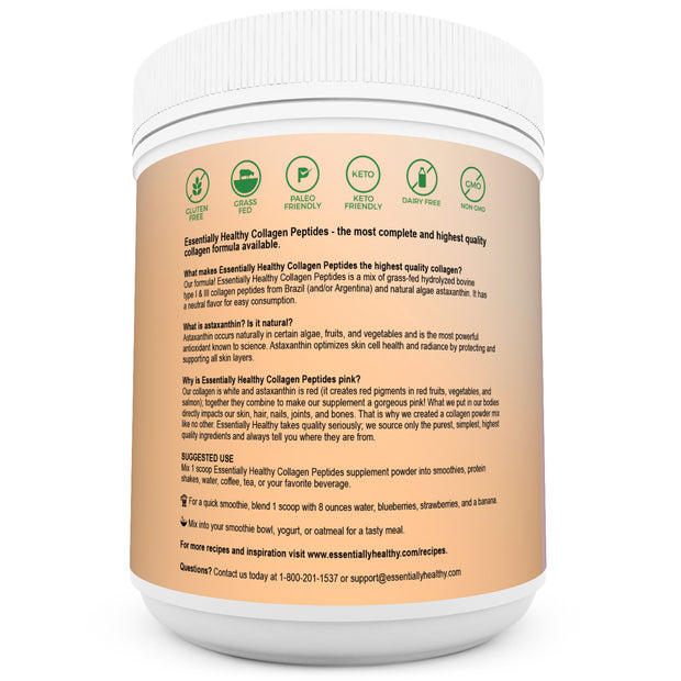 Collagen Peptides - Grass Fed Pasture Raised