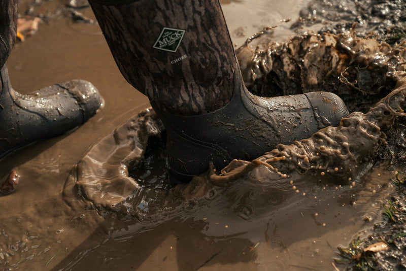 TWO NEW BOOTS FEATURING THE MOSSY OAK BOTTOMLAND CAMO