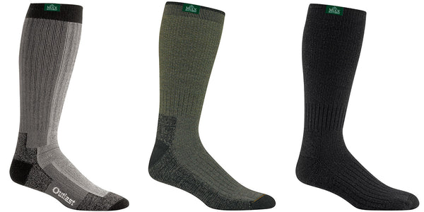 Wigwam socks for rubber boots