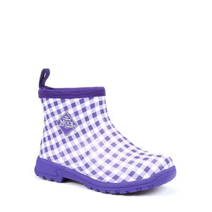 Purple Gingham Print
