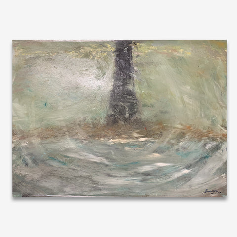 Beufort Of Forlorn Light House 48 x 35