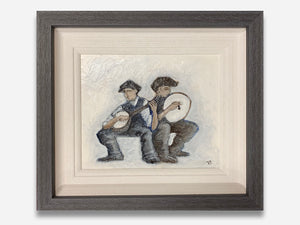 Banjo And Drum 12 x 10