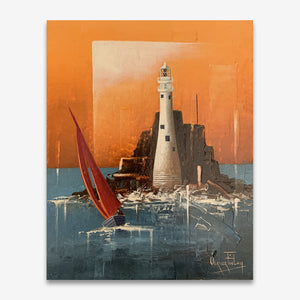 Fastnet Lighthouse 8 x 10