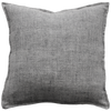 Flaxmill Charcoal Feather  Cushion