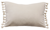 Este Nude Feather Cushion