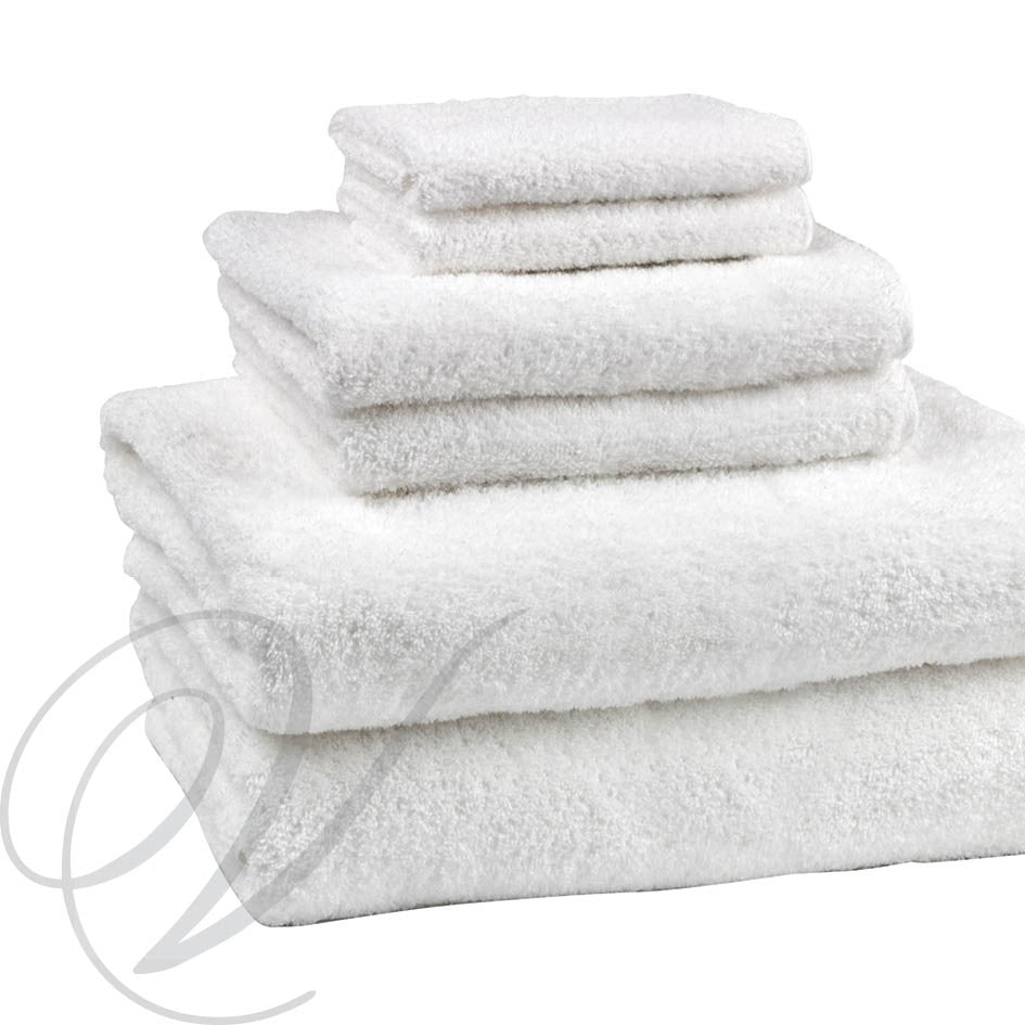 Weavers Cardiff Towel - White