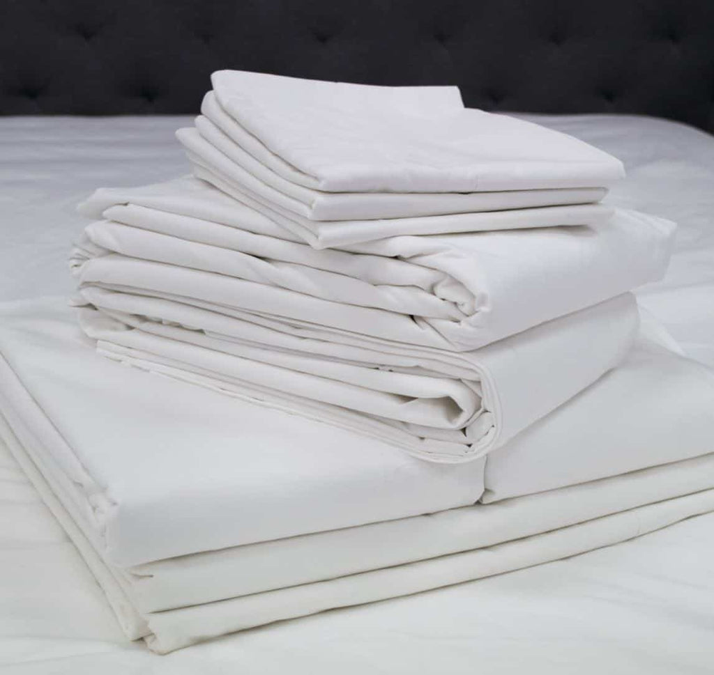 Weavers 5-Star high quality percale Fitted Sheets