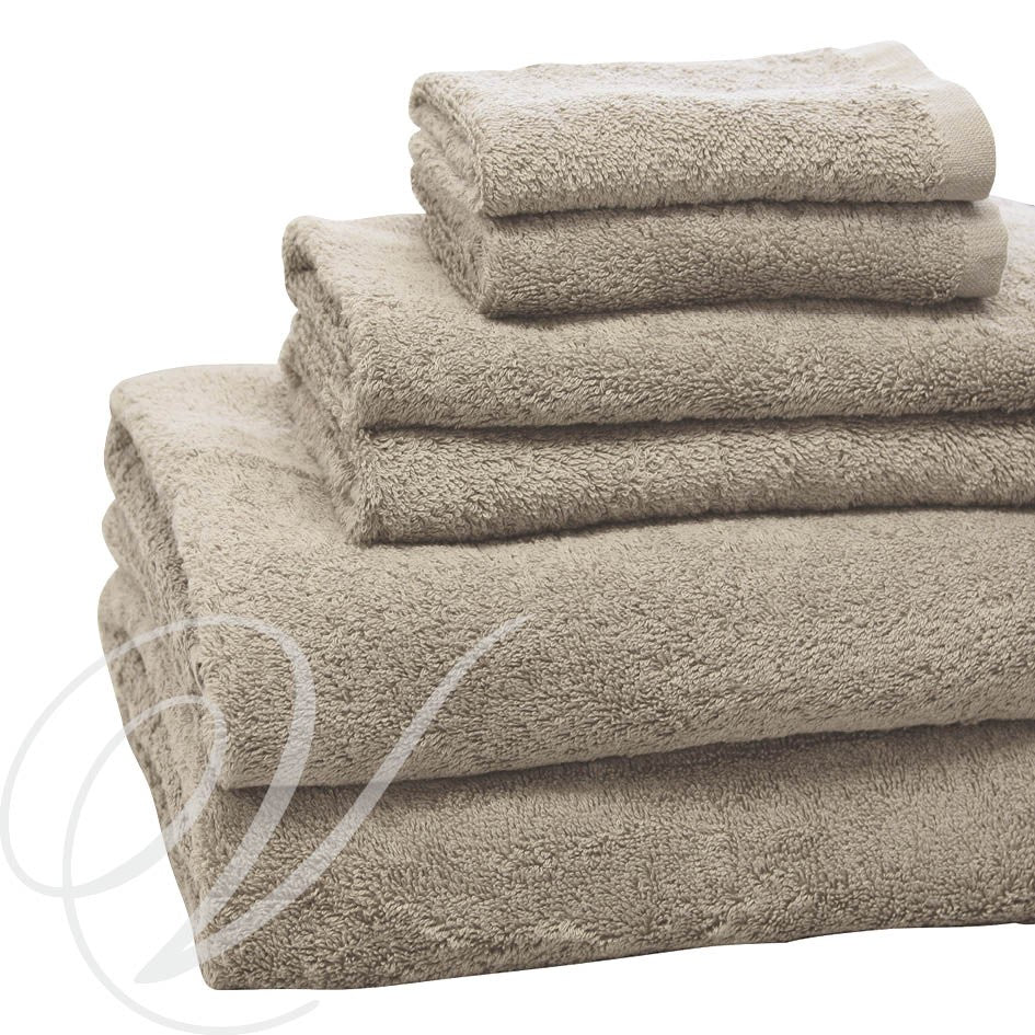 Weavers Cardiff Towel - Mocha