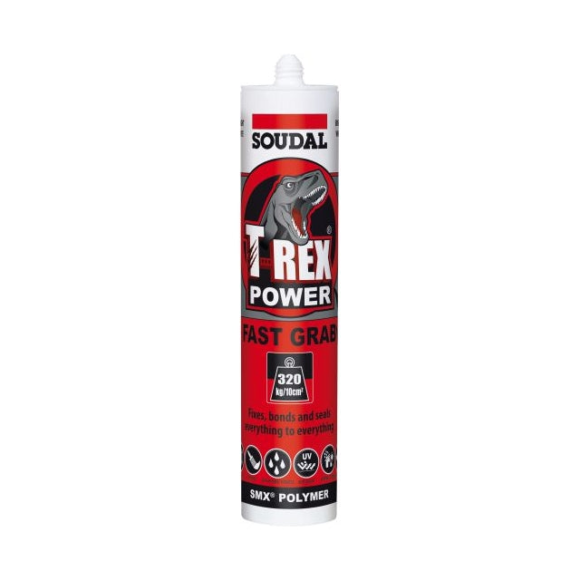 T-Rex Power Fast Grab - Steel Grey, 290ml - Safety Stride