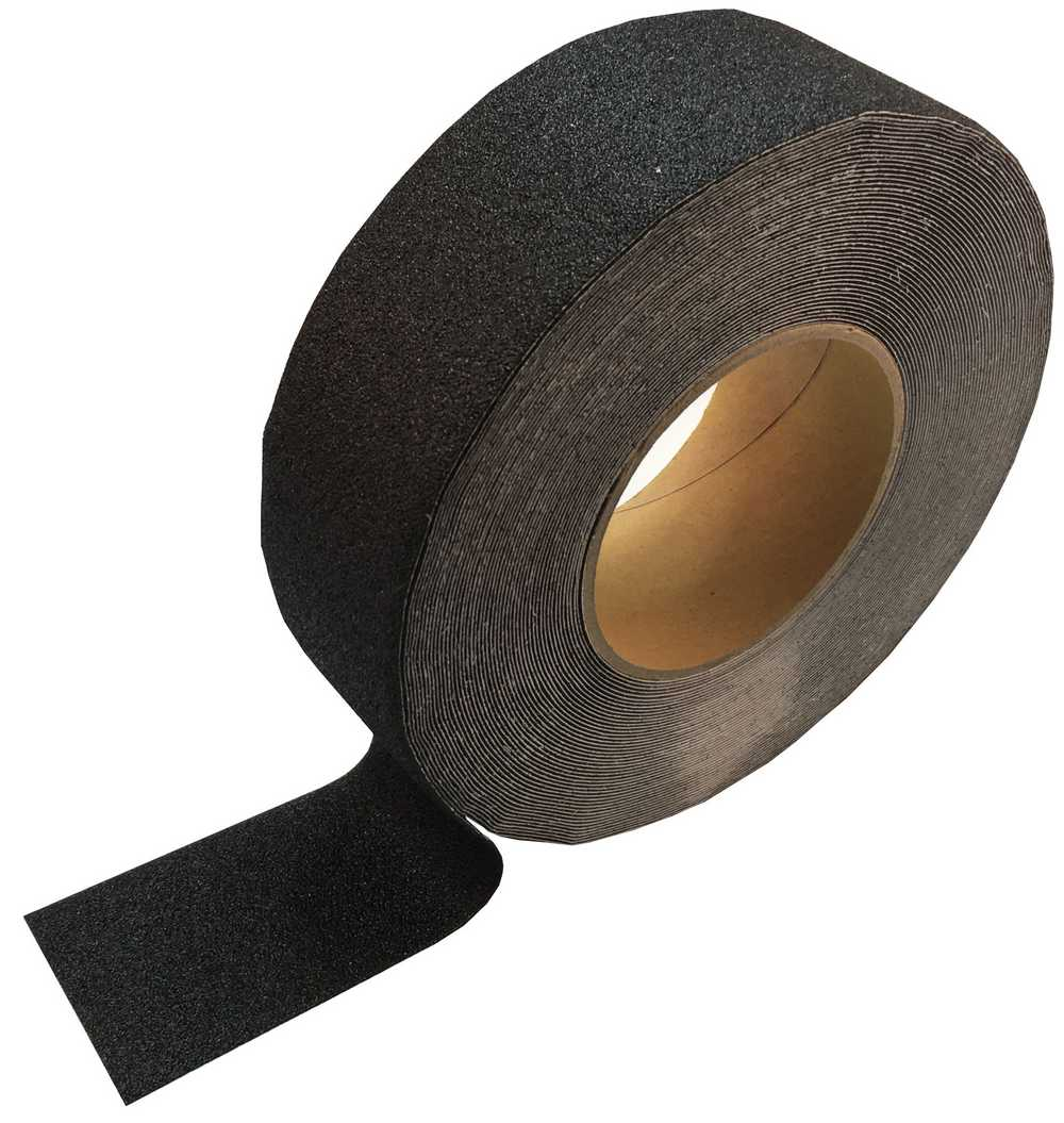 Non-slip Tape - Standard Grit, 50mm wide x 18m long