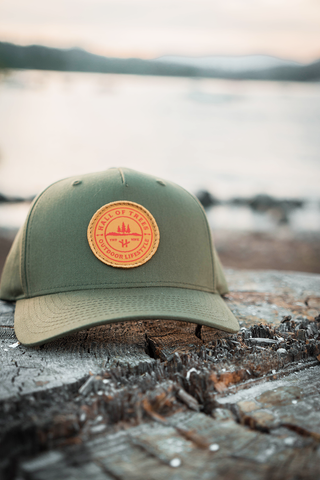 Stamped Cap - Forest